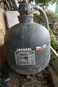 Jacuzzi Pool Sand Filter and Pump