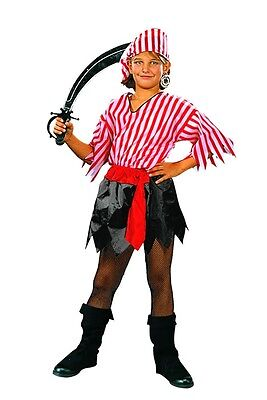 Pirate Girl Promo Child Costume CHEAP Girls Outfit - Cheap Girl Pirate Costumes