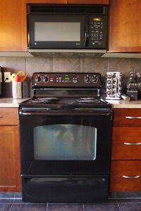 GE Electric stove and oven and Microwave