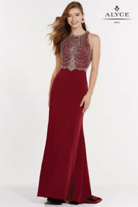 Prom gown-wine full length