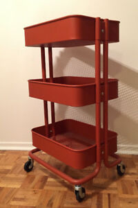 Ikea RÅSKOG Utility cart Red