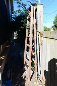 ladders, wooden