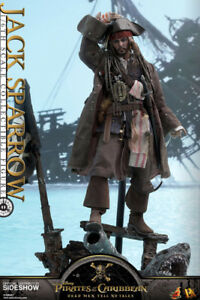 Hot Toys Jack Sparrow -POTC DMTNT1/6th Action Figure in store!