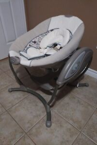 Amazing Graco Elite Gliding Swing - Used Twice, Never Pooped In!