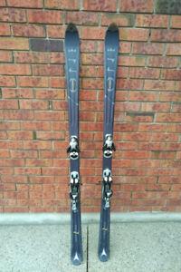 Men's Atomic Twin Tip Skis with Solomon Bindings