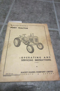 1952 Massey Harris Pony