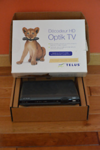 TELUS Optic TV Box