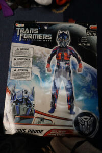 Kids Halloween Costume Transformers Optimus Prime Size 7-8