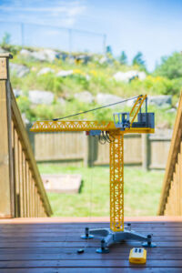 Gently used Playmobil Remote Control Crane