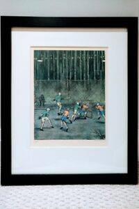 William Kurelek ,  7 Ltd. Ed. prints from his Sports portfolio
