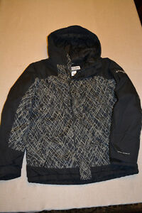 Boys Columbia Winter Jacket Size:18/20