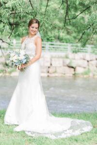 Wedding Dress - Essense of Australia