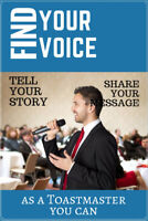 Toastmasters Spring Fling Events  1  - Find Your Voice