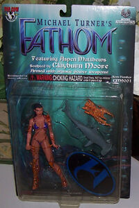 Michael Turners Fathom Figure CM9001 Moore Action Collectibles