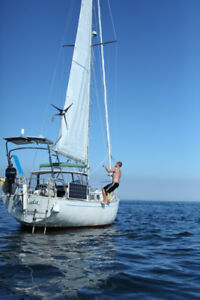 Blue Water 1980 Niagara 35 Sailboat *Price Drop 38000CAN*
