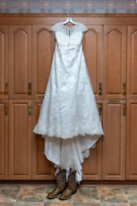 Size 18 Wedding Dress from David's Bridal