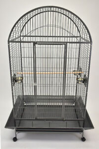 *ON SALE* Large Dome Top Parrot Cage for Macaw Cockatoo Grey