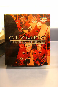 Reduced Nhl , Esso  Hockey card Olympic album