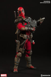 Sideshow Collectibles  1/6th Deadpool Action Figure in store!