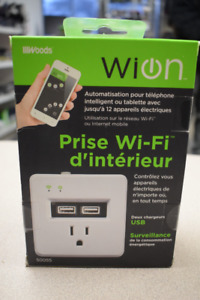 WiON Indoor Wi-Fi Outlet (#2348)