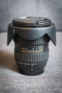 Tokina AT-X PRO 11-16mm f/2.8 Wide Angle Lens For Nikon