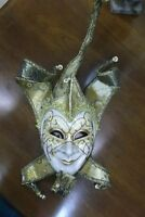 MASQUERADE MASKS, FULL FACE JESTER, COMEDY OR TRAGEDY  $75.00 EA