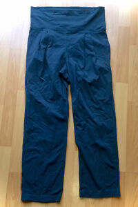 Lululemon Dark Grey Comfy Straight Lounge Joggers Yoga Size 8 L