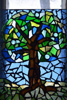 Mosaic Stained Glass Workshop Saturday August 19!