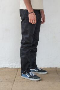 Freenote Cloth NEW Portola Black Japanese Denim Pants Jeans