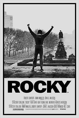 Rocky Poster Hauptplakat 61 x 91,5 cm Premium Bild Film Sport Motivation Boxen