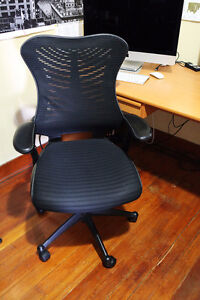 Nice Black Office Chairs, Set of 2