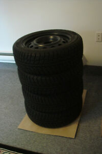 4 winter tire with rims 195/55/R15