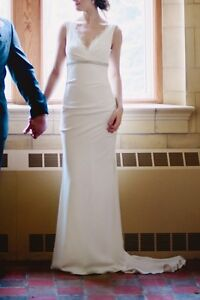 Nicole Miller Nina Wedding Gown Ivory