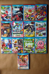 Nintendo Wii U Video Games