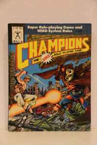 Champions (Role Playing Game Rule Book)
