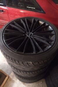 4 Tires and rims came of 2006 BMW 3 series