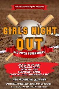 NOrthern Bomb Squad Ladies Softball Tournament