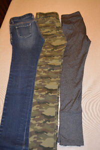 3 pairs of Girls Pants for $15 total