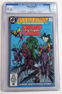 SWAMP THING #50 (1986) CGC 9.6 FIRST 1st JUSTICE LEAGUE DARK