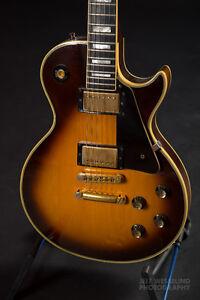 1976 Vintage Gibson Les Paul Custom - Tobacco Burst!!!