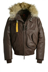 large leather parajumpers gobi