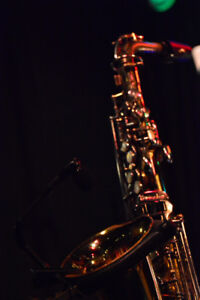 Saxophone player available for studio work