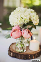 Save time and $ - Rent floral decorations-Weddings and parties