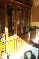 Hutch and China Cabinet