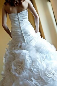 Haute Couture Wedding Gown, Size 4-6