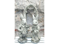 Wedding Couple in Reconstituted Limestone - Wedding Gift