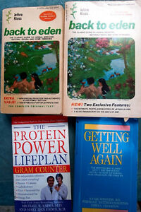 Back to Eden Classic Jethro Closs & wellness books