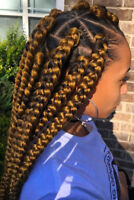African Braids, Crotchet and Sew ins