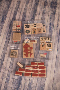 Lot of Stampin up Sets