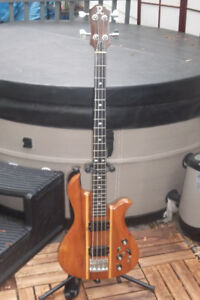 Extremely Rare 1976-77 B C Rich Eagle/Bodine Bass